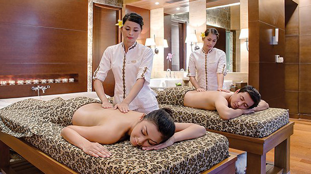 couple spa